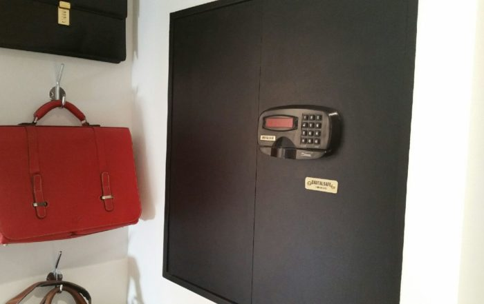 DigitalSafe Marquis Wall Safe in Black
